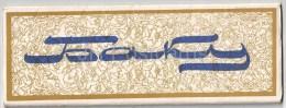 Set Of 12 Mini Format Postcards - Baku - Azerbaijan USSR - Unused - Azerbaïjan