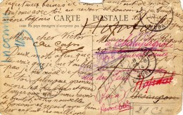 1914  - Philathèlie: Inconnu - Militaire 26e, 18e, 21 C3 M  Hopital-en Convalescence-hopital St-Jacques-Jura Champagnole - Cartes Postales