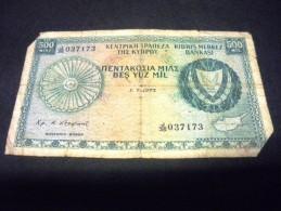 CHYPRE 500 Mils 01/07/1975 ,pick  N° KM 42 B , CYPRUS - Chypre