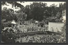 "Romania,Oradea- Nagyvárad, The Spa ""1 Mai"", The Pool, 1962 - Roumanie"