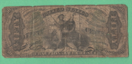 USA United State America 50 cents ley 3 march 1863