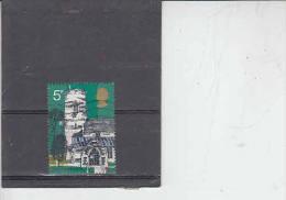 GRAN BRETAGNA  1972 - Unificato  662 - Architettura - 1952-.... (Elisabetta II)