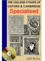 The COLLEGE STAMPS Of OXFORD & CAMBRIDGE Locals Specialised Book Cummings 118pages - Software