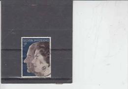 GRAN BRETAGNA  1972 - Unificato  672 - Nozze Reali - 1952-.... (Elisabetta II)