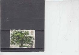 GRAN BRETAGNA  1973 - Unificato  678 - Natura - Alberi - 1952-.... (Elisabetta II)