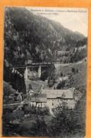 Gasthaus Z Sternen I Hollental U Ravenna Viadukt 1908 Postcard - Freiburg I. Br.