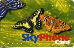 "MONGOLIA  Skytel SkyPhoneCard ""Butterflies"" 2,000 Tugrik   Autelca   RR - Mongolia"