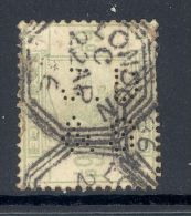 GB, 1883 6d  With Perfin ´J D & S´ - 1840-1901 (Victoria)