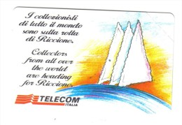 RICCIONE 30 AGOSTO 1 SETTEMBRE 1996 10000 Lire Nuova Cod.schede.020 - Italia