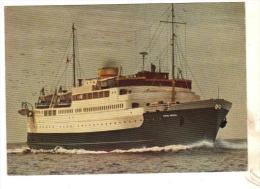 "Cpsm Norway "" Peter Wessel "" A/S Larvik Frederiksferjen Norvège Construit En 1968 Danemark - Ferries"