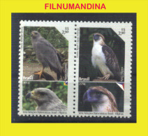 BRESIL BRASIL BRAZIL 2014 FAUNE FAUNA OISEAUX  BIRDS YV 3345-6  MNH NEUF POSTFRISCH - Unused Stamps