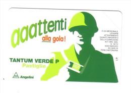 TANTUM VERDE P PASTIGLIE 5000 Lire Nuova Cod.schede.022 - Pubbliche Pubblicitarie