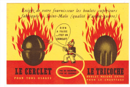 Buvard Le Cerclet Le Tricoche (B.004) - Buvards, Protège-cahiers Illustrés