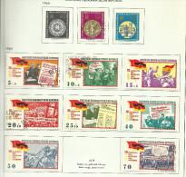 DDR N°795, 796, 804 à 810, 812 Et 802, 803 Cote 2.90 Euros - Usados