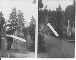 Saint-mihiel Ferme De Marsoupe Cimetière Des Abbasseaux Tombe Du Général Blaise 2 Cartes Photos 1914-15 Ww1 Wk1 - Guerre, Militaire