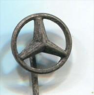 MERCEDES - Car, Auto, Automobile, Vintage Pin, Badge - Mercedes