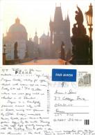 Prague Praha, Czech Republic Postcard Posted 1998 Stamp - Czech Republic