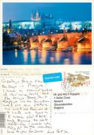 Prague Praha, Czech Republic Postcard Posted 2009 Stamp - Czech Republic