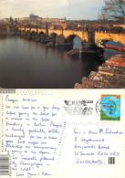 Prague Praha, Czech Republic Postcard Posted 2003 Stamp - Czech Republic