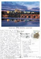 Prague Praha, Czech Republic Postcard Posted 2002 Stamp - Czech Republic