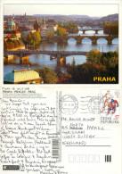 Prague Praha, Czech Republic Postcard Posted 2008 Stamp - Czech Republic