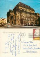 National Theatre, Prague Praha, Czech Republic Postcard Posted 1969 Stamp - Czech Republic