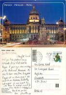Prague Praha, Czech Republic Postcard Posted 2006 Stamp - Czech Republic