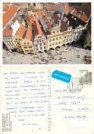 Prague Praha, Czech Republic Postcard Posted 2000 Stamp - Czech Republic