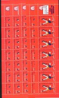 France - 1993 - Journee Du Timbre - Carnet, YT BC 2794, Neuf**, 5x, Non Plie - Booklets