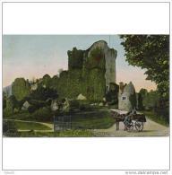 RUDTP2077CPA-LFTD1605TARC. Tarjeta Postal De IRLANDA.Castillo De Ross. KILLARNEY. Coche De Caballos. - Castillos