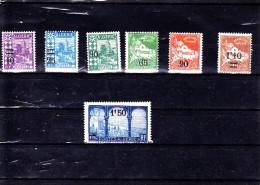 ALGERIE : Y&T : 71* à 77* - Algérie (1924-1962)