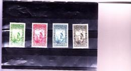 ALGERIE : Exposition De Paris: Y&T : 127* à 130* - Algeria (1924-1962)
