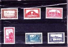 ALGERIE :  : Y&T : 138 à 141A - Algérie (1924-1962)