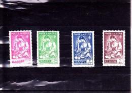 ALGERIE :  : Y&T : 205* à 208* - Algérie (1924-1962)