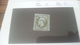 LOT 270077 TIMBRE DE FRANCE OBLITERE N�11 VALEUR 90 EUROS