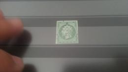 LOT 270161 TIMBRE DE FRANCE OBLITERE N�12 VALEUR 90 EUROS