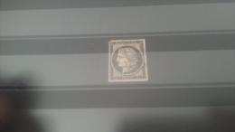 LOT 270164 TIMBRE DE FRANCE OBLITERE N�3 VALEUR 60 EUROS