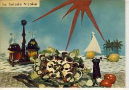 La SALADE NICOISE - Recette No 601 - Küchenrezepte