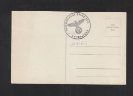 Blanko-Karte Stempel Kommandant Oflag II C - Briefe U. Dokumente