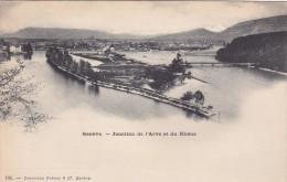 GENEVE , Junction De L'Arve Et Du Rhone , Switzerland , 00-10s - GE Geneva