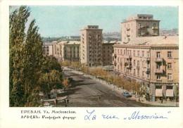 Arménie - Arménia - Arménian - Yerevan - Erevan - Epebah - La Rue Moscovian - Grand Format - 2 Scans - état - Armenia