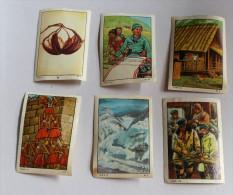 6 Images Anciennes Chocolat NESTLE Et KOHLER - Nestlé