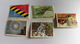 5 Images Anciennes Chocolat NESTLE Et KOHLER Kayak Esquimau - Nestlé