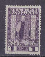 AUSTRIA 1908 1k MINT