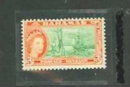 Bahamas Scott # 171 MNH Fish & Fishing Boat 1954 Issue Catalogue $22.50 - Bahamas (1973-...)