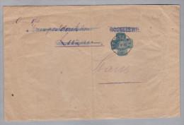 Heimat LU ROGGLISWIL Langstempel 1919-04-17 Rogliswyl Auf Portofreiheits Brief Nach Stans - Franchise