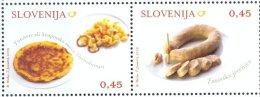 SI 2009-749-50 GASTRONOMY, SLOVENIA, 1 X 2v, MNH - Ernährung