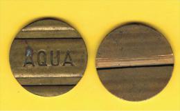 FICHAS - MEDALLAS // Token - Medal -  Ficha AQUA - Tokens & Medals