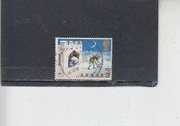 GRAN BRETAGNA   1973 - Unificato  702/07 - Natale - Usati