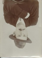 Photographie /Buste D'homme Au Chapeau/Tirage Sur Papier / Vers 1910    PHOTN5 - Anonymous Persons